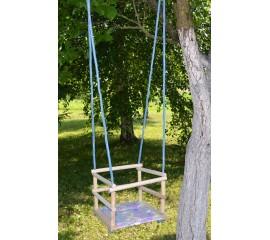 Supynės vaikiškos medinės su apsaugomis